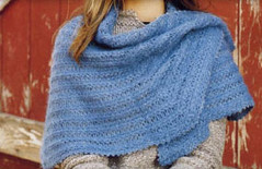 Perfect Pie Shawl - Picot Border