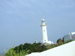 White (cattyblackey) Tags: sky lighthouse white japan fukushima todai