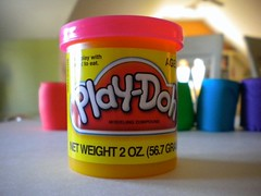 (elexandebbelovedanny) Tags: pink art focus colours play colorfull dough playdoh create doh playdough